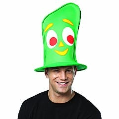 You Can be Gumby with this Cool Top Hat