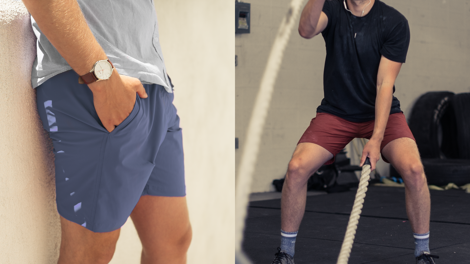 The only and last pair of shorts you'll ever need, with our Hip-Locked Media Pocket. For working out, going out, and everywhere in between.