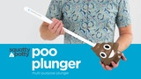 the poo emoji toilet plunger by squatty potty kicktraq. Black Bedroom Furniture Sets. Home Design Ideas