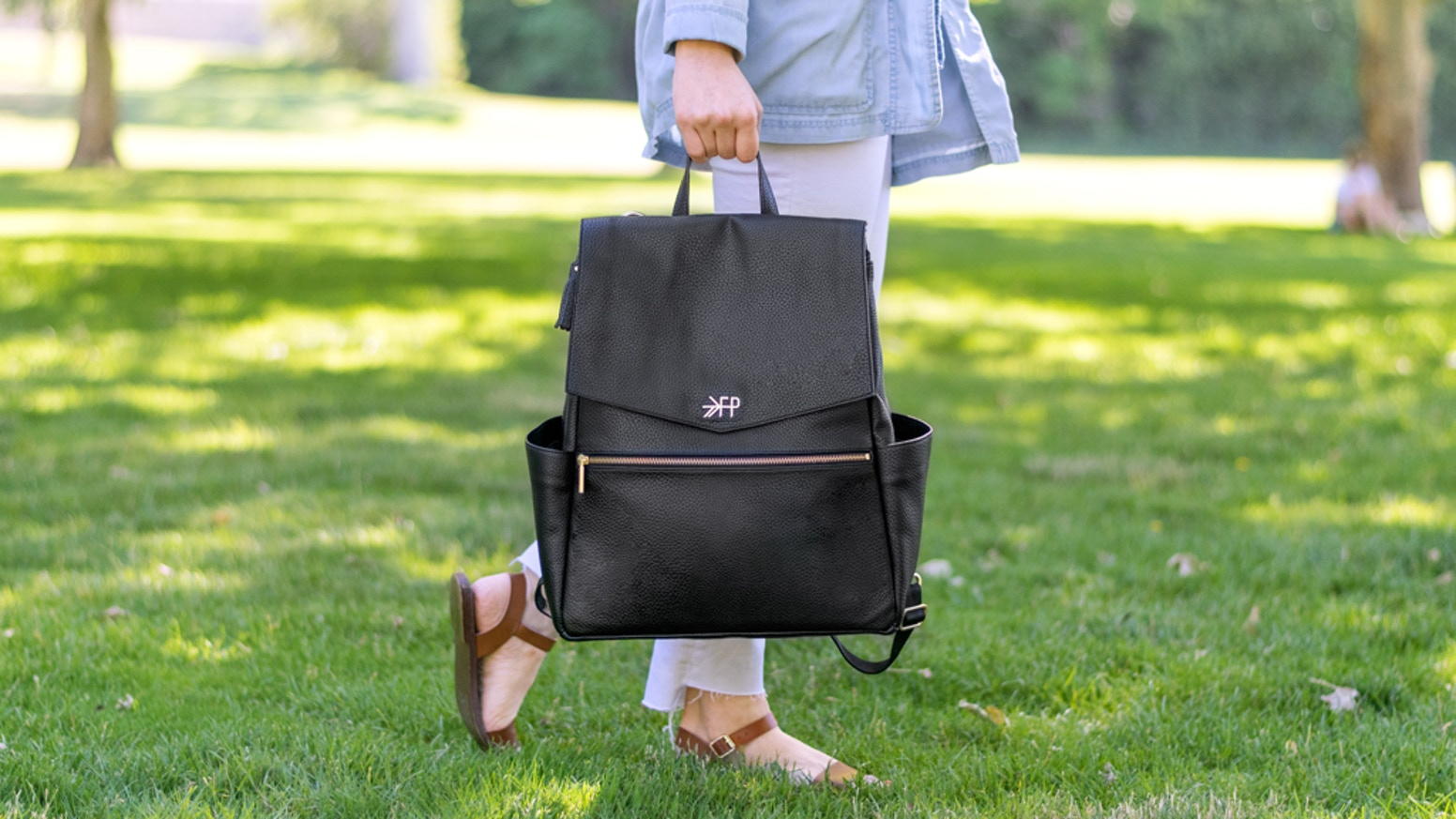 The diaper bags are entering production and will be available for purchase on freshlypicked.com and at Nordstrom in November. Can't wait to order yours? Pre-order on Indiegogo for $15 off retail price.