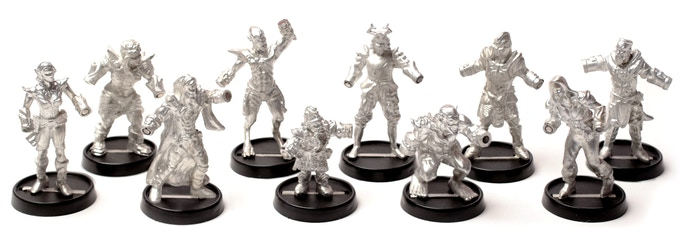 Hand of Glory: Modular Magnetic Gaming Miniatures - Kickstarter