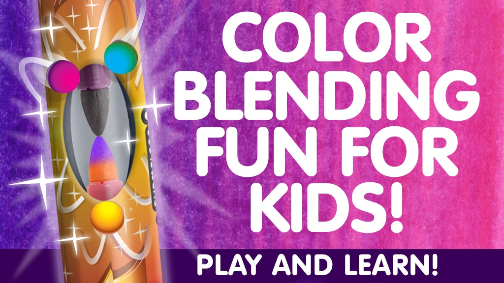 NEW Color Blending Fun For Kids! project video thumbnail