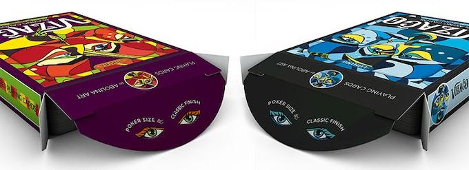 VIZAĜO tuck boxes: Lumina & Lumino (note: earlier version shown in video)