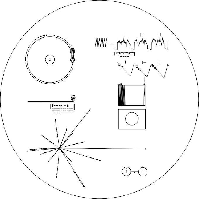 Voyagers 40th Anniversary! Inspired by NASA and Carl Sagan