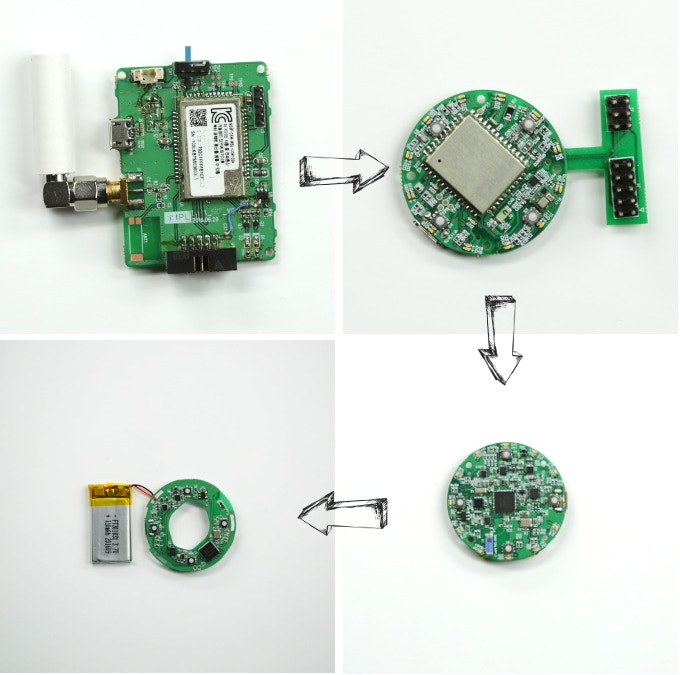 From big to small - the progression of the circuit board