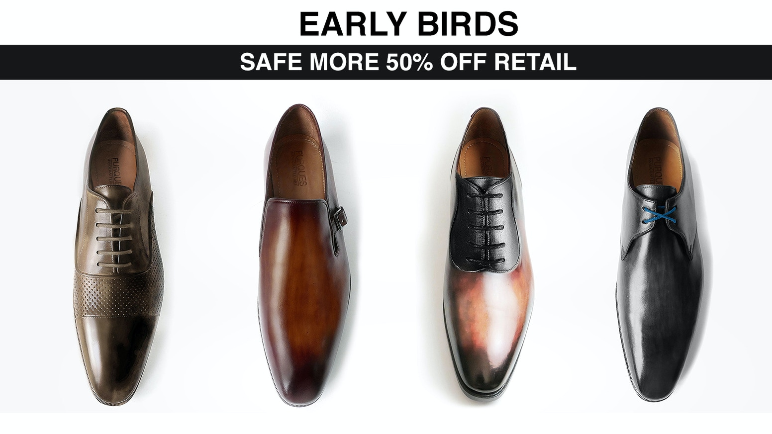 PURQUES - Italian Leather Shoes for the modern Man