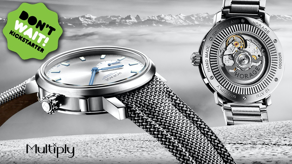 Next Level Swiss watch making - Multiply by Horage project video thumbnail