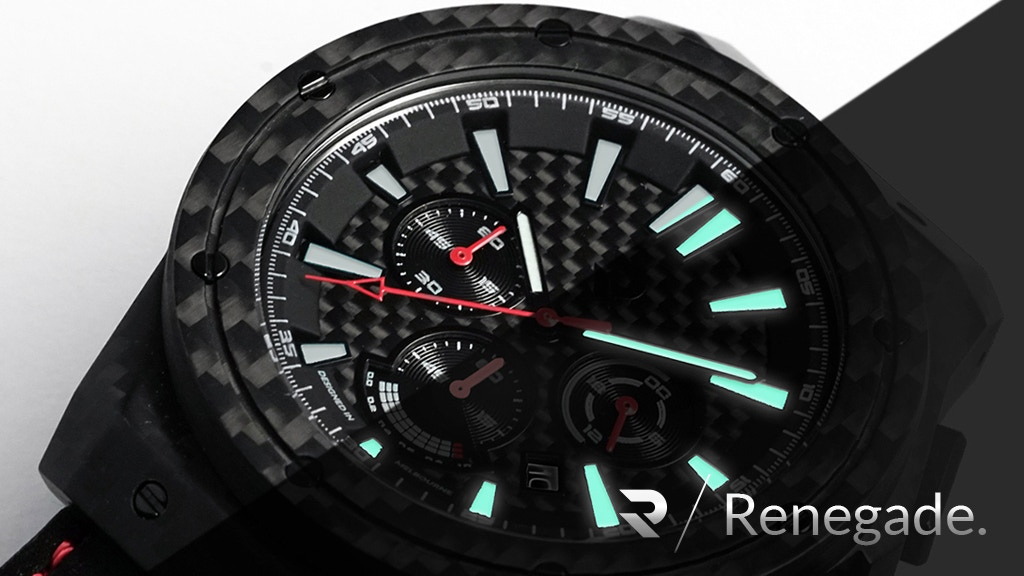 Carbon Renegade - A Watch Made Of Carbon Fiber Goodness project video thumbnail