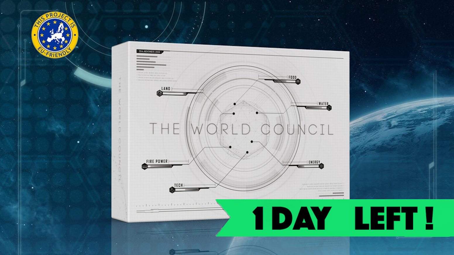 A Strategic Board Game for you to Experience Global Cooperation, Horrible Leadership, Despicable Plans, World Destruction and more.