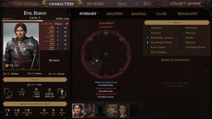 Pathfinder: Kingmaker by Owlcat Games » Pathfinder builds