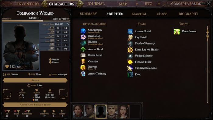 Pathfinder: Kingmaker by Owlcat Games » Pathfinder builds character
