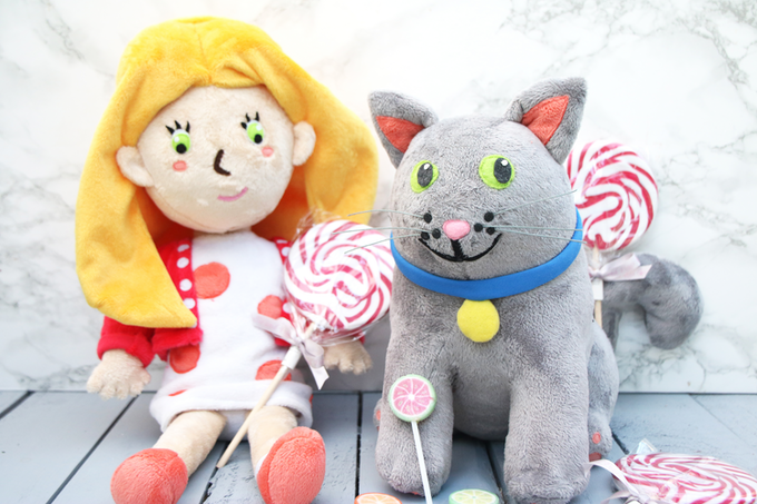 Hollie and Figgs plush toys