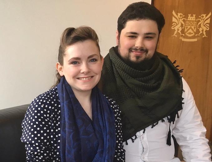 Meet Áine & Duncan