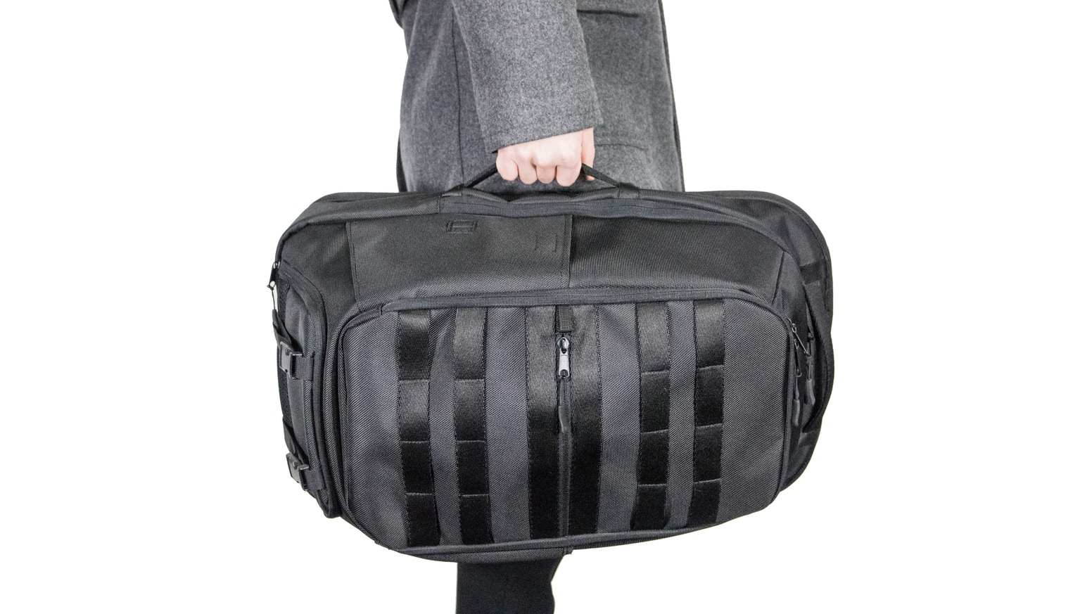 Bagram Pack: 3-bags-in-1 backpack for Office / Gym / Travel by