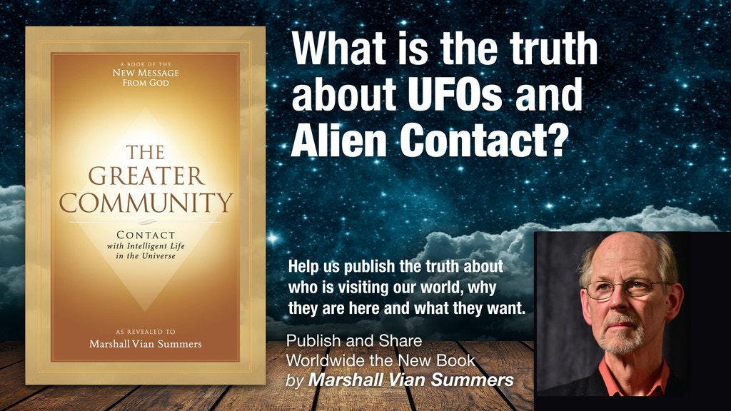 UFOs, Contact and our Future in Space—Marshall Vian Summers project video thumbnail