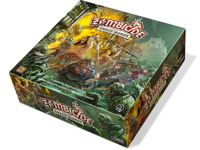 The medieval fantasy Zombicide saga continues with a horde of undead orcs, new environment features, resources and challenges!