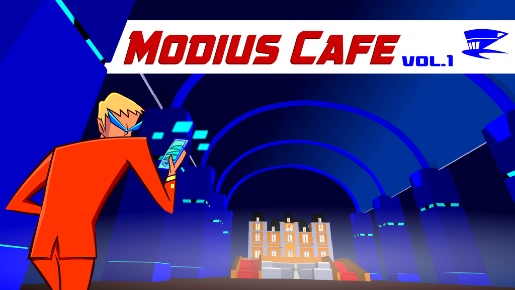 Modius Cafe - Spy-Fi Adventure Digital Comic 1st issue project video thumbnail