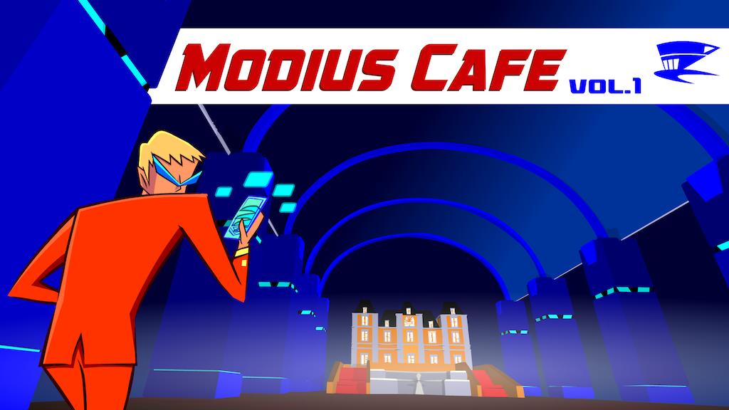 Modius Cafe - Spy-Fi Adventure Digital Comic 1st issue project video thumbnail