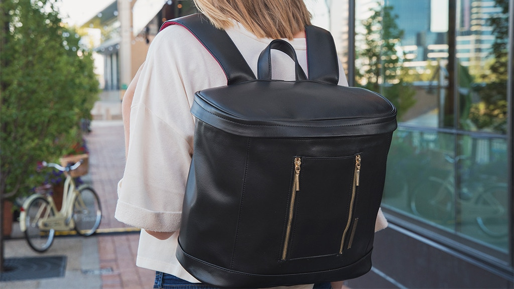 The Rosa Pak - A Backpack Designed for the Modern Woman project video thumbnail