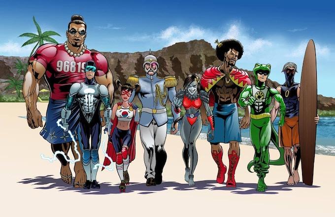 Mana Comics celebrates cultural diversity.