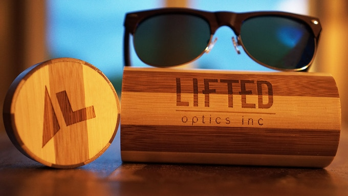 Our Bamboo Case - Back us at the Lifted Supporter tier to get it!
