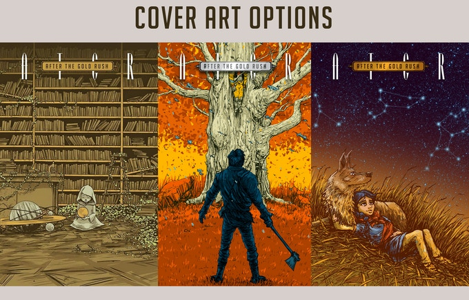 You can select any of the cover art for your large print reward