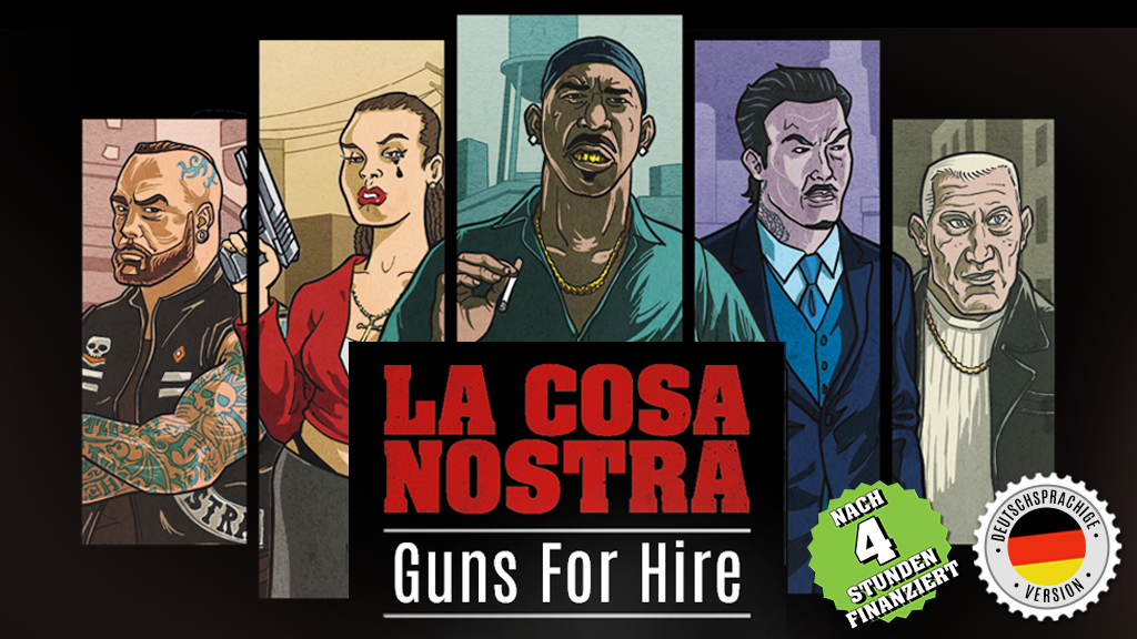 La Cosa Nostra – Guns For Hire project video thumbnail