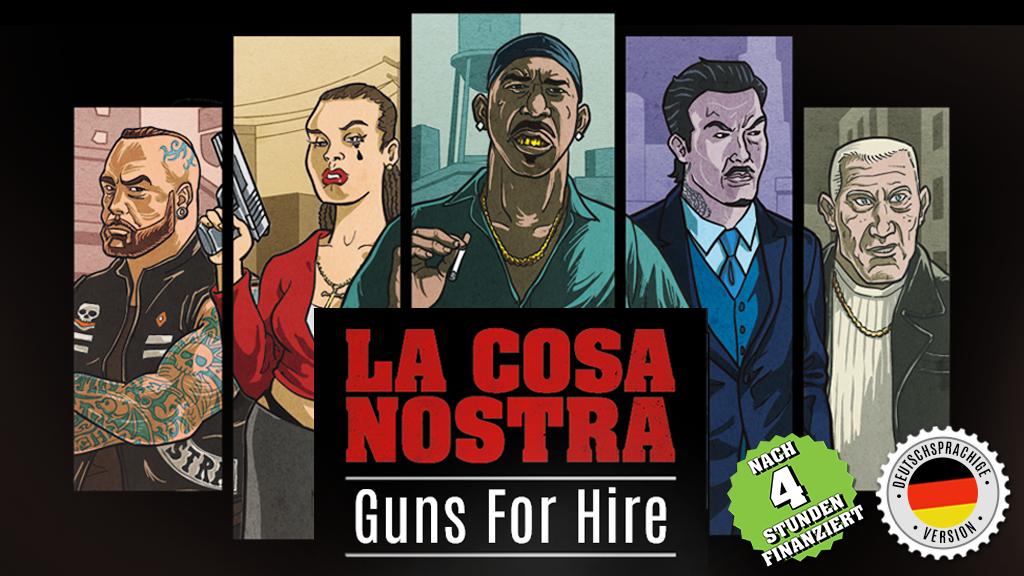 La Cosa Nostra – Guns For Hire Project-Video-Thumbnail