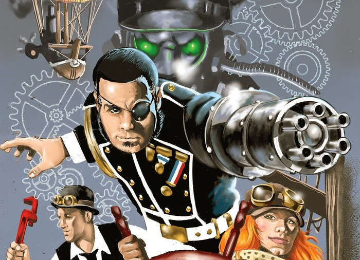 Dirigible Days is planning their next steampunk adventure in the form of a comic book/graphic novel!