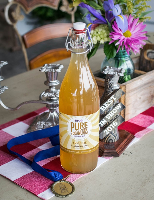 At Pure Sodaworks, we handcraft the best sodas in the world with pure cane sugar and real ingredients like fruit, juice, herbs, and spices. Just give one a try and you'll agree: this is some Mighty Good Soda!