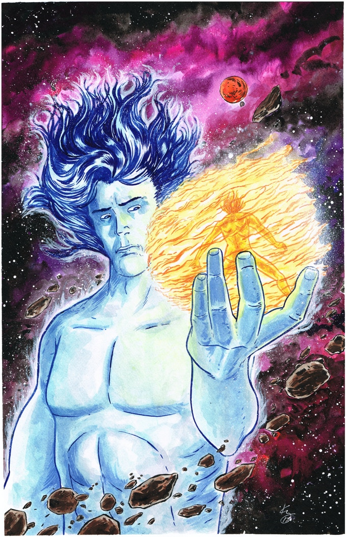 Cosmic Cinder by Kelly Williams