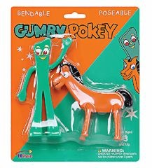 Gumby & Pokey Bendable Toys!
