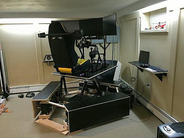 6DOF platform with AC motors  (Steven from NY)