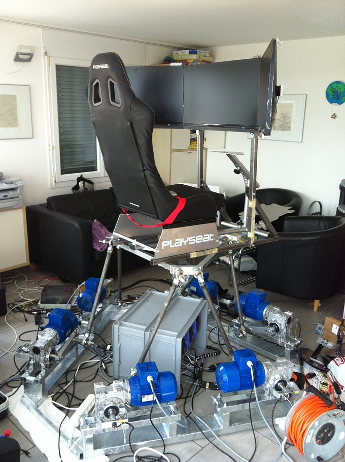 6DOF platform with AC motors (Fabian)