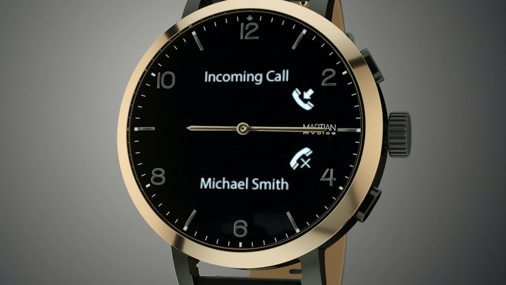 "mVoice G2: World's First ""Watch"" with Voice & Full Display project video thumbnail"