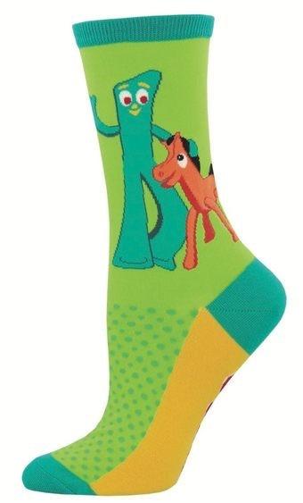 Gumby Socks Gumby & Pokey Women's Size