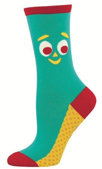 Gumby Socks Close Up Women's Size