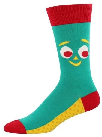 Gumby Socks Close Up Men's Size