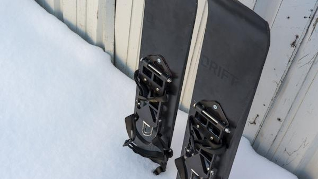 Drift Boards: Snowshoe for Snowboarders & Backcountry Travel project video thumbnail