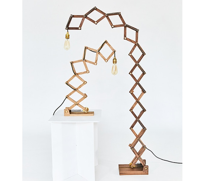 Crane Desk Lamp & Crane Floor Lamp