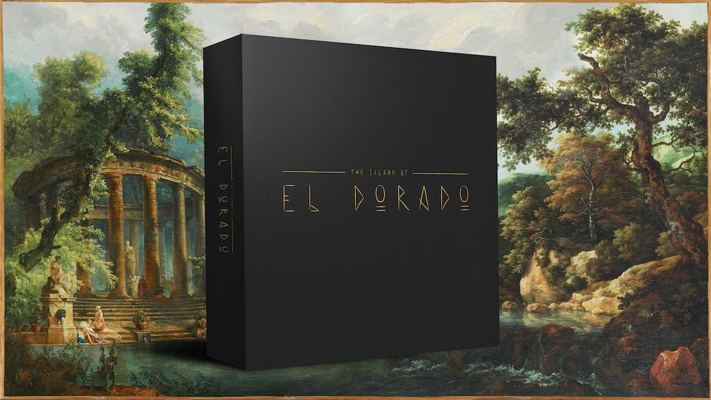 The Island Of El Dorado By Daniel Aronson Kickstarter