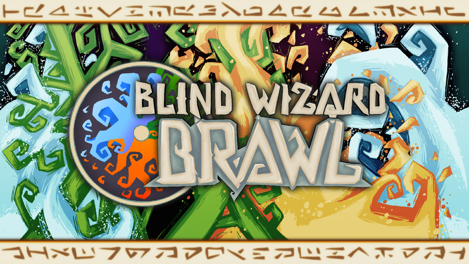 Blind Wizard Brawl is a micro deck-building phygital game (hybrid tabletop game with free app) about bluffing your spells to victory!