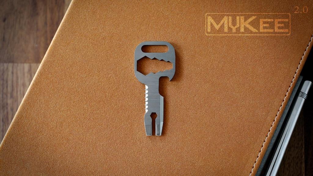 MyKee 2.0 - Grade 5 Titanium Multi-Tool Key project video thumbnail