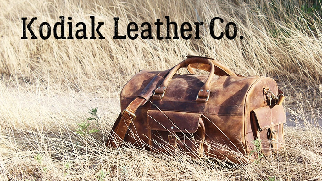 Kodiak Leather - Classic Weekender Duffel 60L project video thumbnail