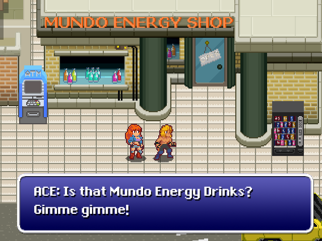 Mundo Energy Drink, the tastiest and most fuel-inducing beverage!