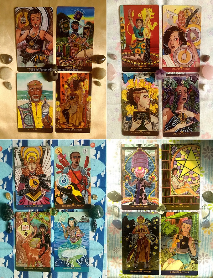 The Numinous Tarot Court
