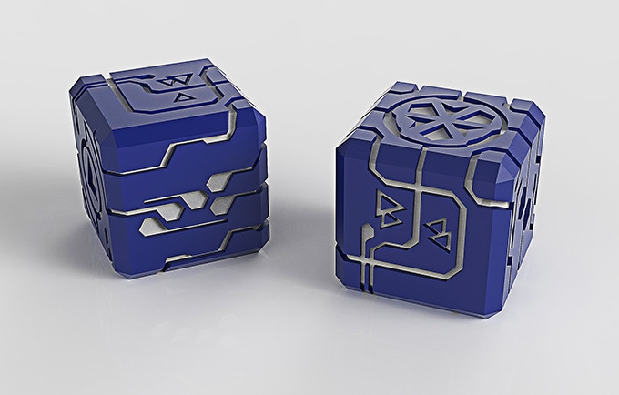 The Endless Dice, Quality aluminum with color anodized finish. Perfect For All Gamers.