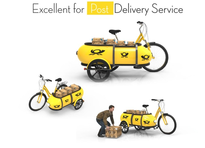 Sidebuddy The Multifunctional Cargo Trailer For Bicycles