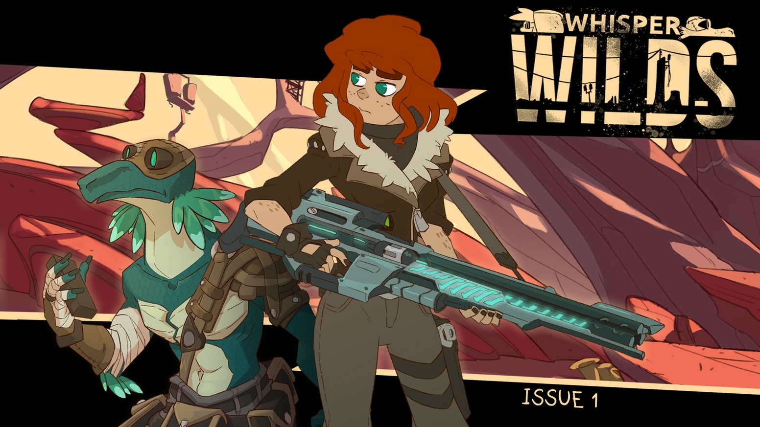 An Australian sharpshooter and a reptilian genius fight to close inter-dimensional gateways in a brand new comic series.
