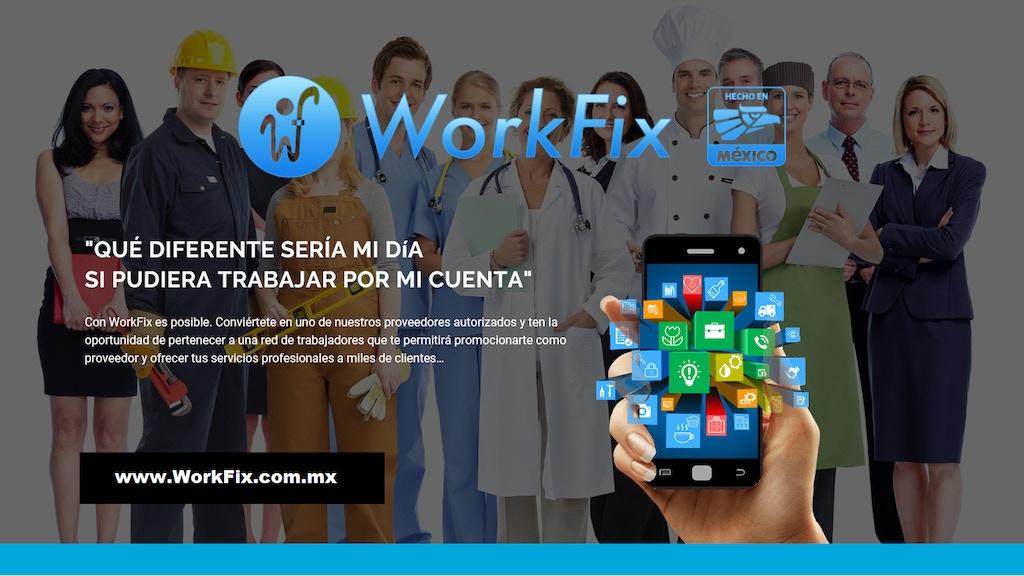 WorkFix... Una APP de servicios confiables por GPS. Reliable project video thumbnail